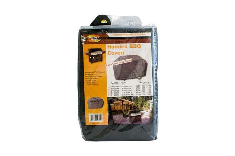 Outdoor Magic Long Drop Premium 6 Burner Hooded BBQ Cover
