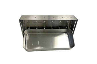 Outdoor Magic Hinged Stainless Steel Soaker Smoker Box