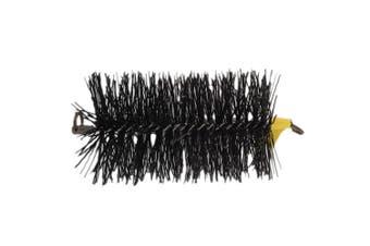 FireUp Black Polypropylene Pull Thru Flue Brush (6 inch)