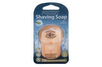 Paper Travel Soap - Shaving Soap