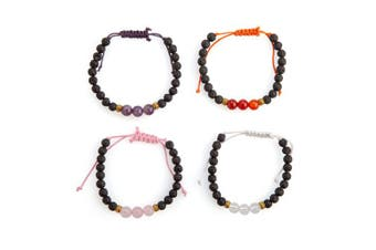 Diffuser Bracelet with Essential Oil - Gemstone