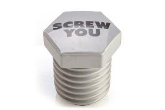 Push Down Bottle Opener - Screw You