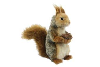 Hansa Sitting Grey Squirrel (25cm L)