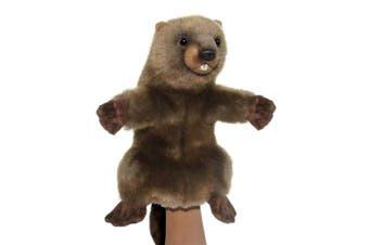 Hansa Realistic Hand Puppet - Beaver 43cm