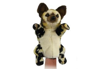 Hansa Realistic Hand Puppet - Wild Dog 40cm