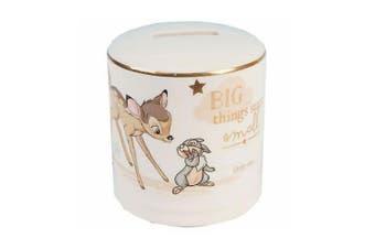 Disney Bambi Money Bank Ceramic