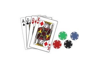 Casino Placemat & Coaster Set