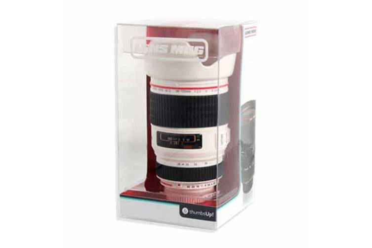Camera Lens Cup (White)