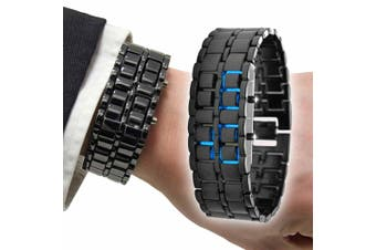 2-in-1 LED Bracelet Watch