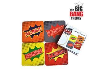 The Big Bang Theory Bazinga Coaster Set