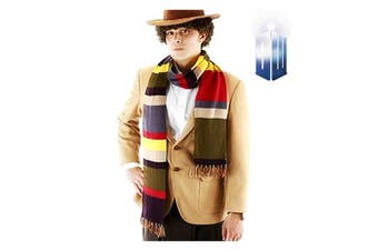 Doctor Who 4th Doctor 6 Foot Scarf