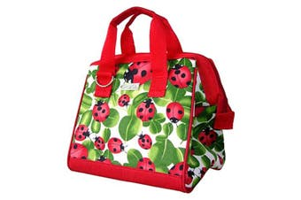 Sachi Designer Insulated Lunch Bag - Lady Bug