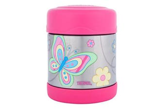 Thermos Stainless Steel Kids Butterfly Funtainers - Food Jar