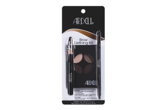 Ardell Brow Defining Kit Make Up Palette Wax Grooming Pencil Brush Highlight