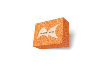 Artists Choice Mini Orange Sanding Block Buffing Block Buff Manicure Pedicure