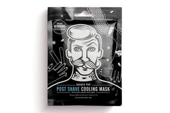 BarberPro Post Shave Cooling Face Mask with Anti-Ageing Collagen (1 x 30g)