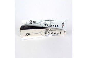 Belmacil Eyelash & Eyebrow Colour Tint - Lash, Brow Tinting #2 Blue Black 20ml