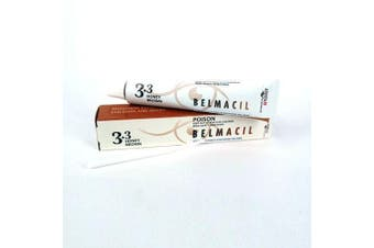 Belmacil Eyelash & Eyebrow Colour Tint - Lash, Brow Tinting #3.3 Honey Brown 20m