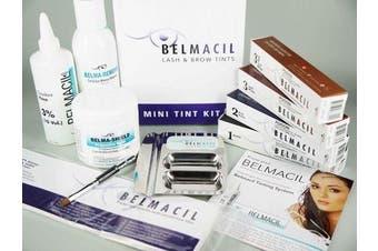 Belmacil Mini Student Tint Kit Starter Value Pack Kit Lash Eyelash Brow Eyebrow