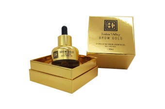 Brow Code Indus Valley Brow Gold Nourishing Growth Oil 30ml Thicker Fuller Brows