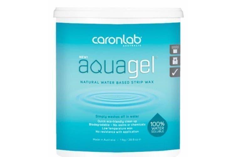 Caronlab Aquagel Water Soluble Strip Wax 1.1kg Waxing Hair Removal