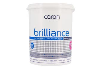 Caronlab Brilliance Strip Wax Microwaveable 800g Waxing Hair Removal