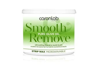 Caronlab Pure Olive Oil Strip Wax Microwaveable 400g Waxing Hair Removal