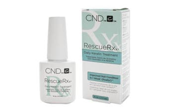 CND Rescue RXx 15ml Keratin Protein Nail Care Treatment Manicure