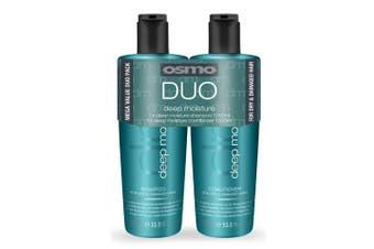 OSMO Deep Moisturising Shampoo and Conditioner - Duo Pack (1 Litre)