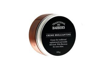 Wahl Traditional Barbers Creme Brilliantine Hair Styling Product 100gm