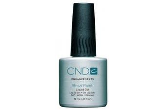 CND Brisa Soft White Gel Paint 12ml