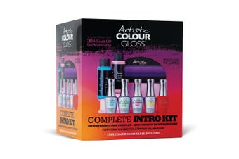 Artistic Nail Design Colour Gloss Complete Intro Kit | DIY Gel Nails & Removal