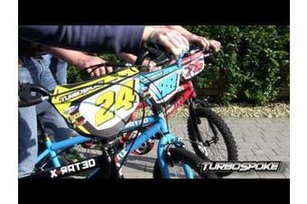 Turbospoke Bicycle Accessories - Racing Number #76
