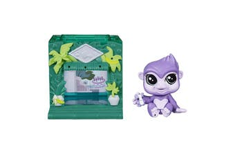 Littlest Pet Shop Mini Style Set Gorilla Pet - Sunshine Sweetness