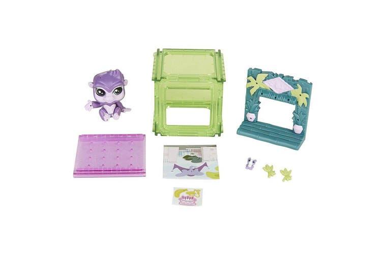 Littlest Pet Shop Mini Style Set Gorilla Pet - Sunshine Sweetness