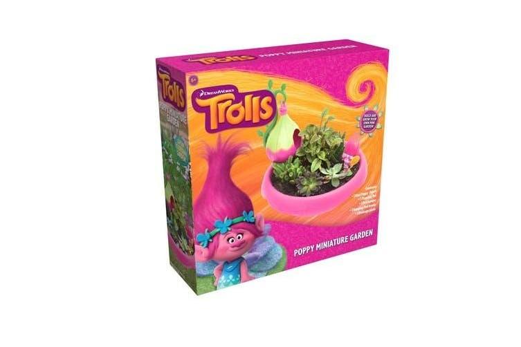 Trolls Poppy Miniature Garden Set