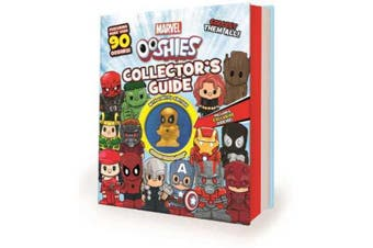 Ooshies Marvel Collector's Guide w/ Limited Eidtion Golden Spider-Man