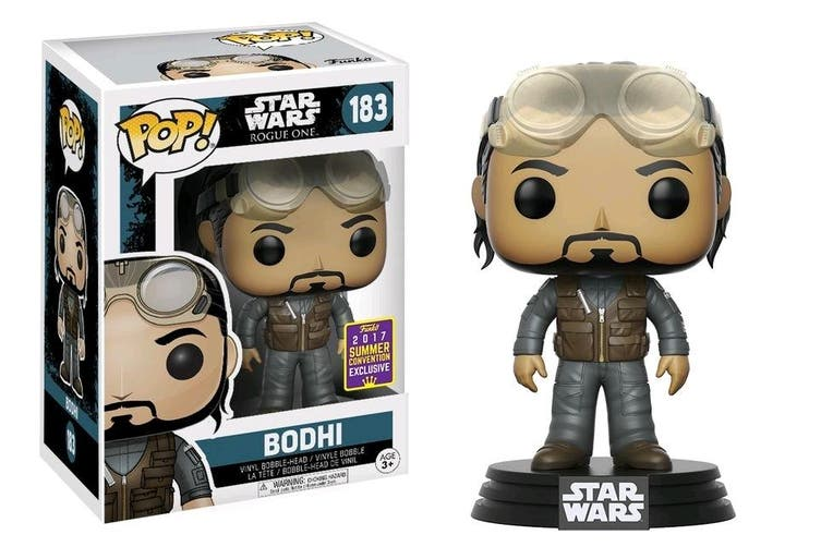 Funko POP Star Wars Rogue One Bodhi 2017 SDCC Exclusive #183