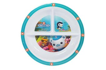 Octonauts Section Plate Microwave Safe