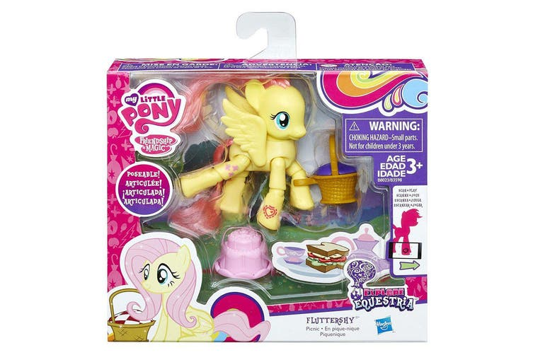 My Little Pony Explore Equestria Fluttershy Picnic Poseable Figure