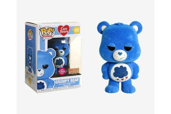 Funko POP Care Bears Grumpy Bear Flocked #353 Vinyl Figure