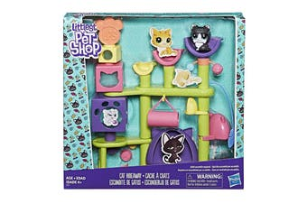 Littlest Pet Shop Cat Hideaway 3-79 Sada Persiafluff