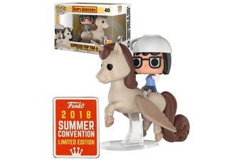 Funko POP Rides Bob's Burgers Tina & Unicorn 2018 SDCC #40