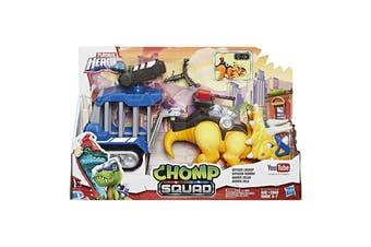 Playskool Heroes Chomp Squad Dinosaur Officer Lockup