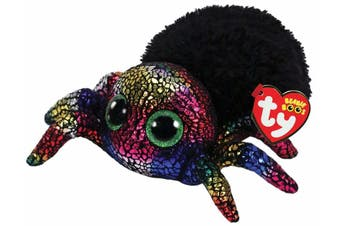 "TY Beanie Boos Regular 6"" Leggz the Spider Halloween Plush"
