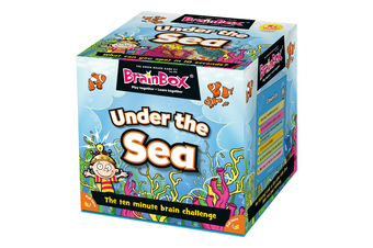 Brain Box Under The Sea Educational Memory Card Game