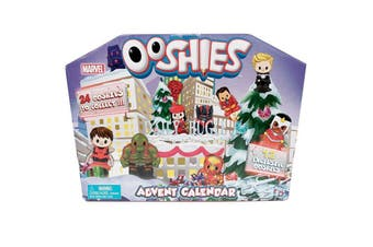 Ooshies Marvel 2018 Advent Calendar with 24 Figures