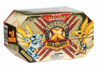 Treasure X Season 2 Quest For Dragons Gold Treasure Hunter Deluxe pack
