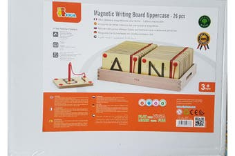 Educational Magnetic Writing Board Uppercase Tracing Letters 26 pcs