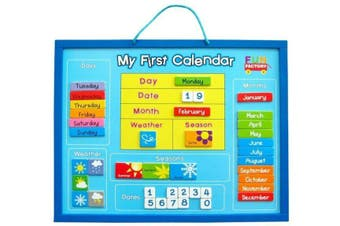 Magnetic My First Calendar - Fun Factory Educational Kids Wooden Toys